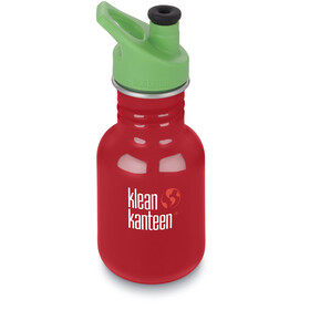 Klean Kanteen Kid Classic Bottle Sport Cap 355ml Mineral Red